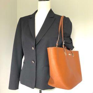 Calvin Klein large tote bag- cognac